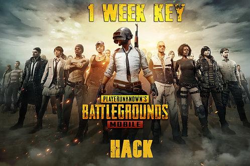 1 Week Key PUBG Mobile