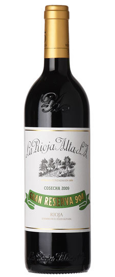 2009 La Rioja Alta S.A. Gran Reserva 904, Rioja DOCa, Spain