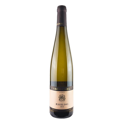 Domaine Boeckel, Riesling, Alsace, France, 2018