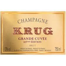"Krug ""Grande Cuvée"" 165 Ème Édition Brut Champagne (unboxed)"