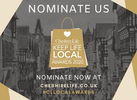 2020 Cheshire Life Keep Life Local Awards