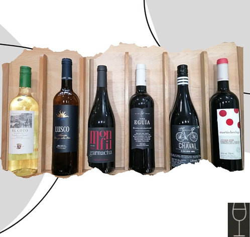 'Wines of Spain' Collection Case