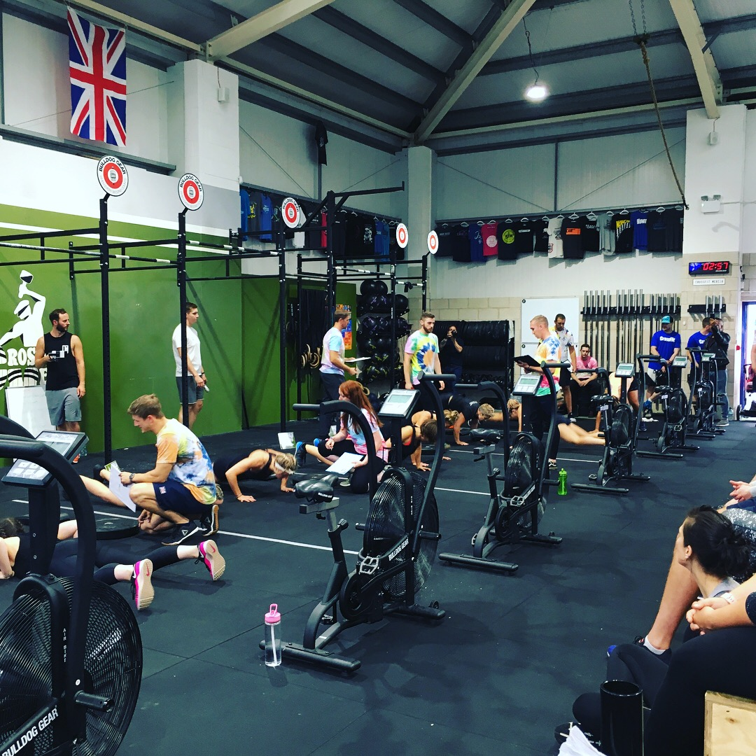 CrossFIt Mercia Aug 2018