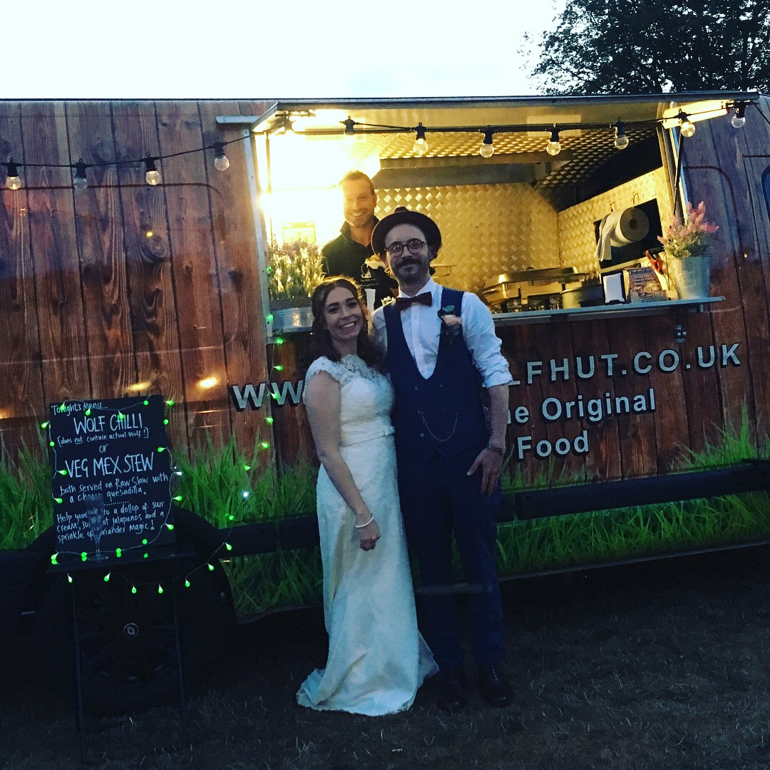 Wolf Hut Wedding Catering