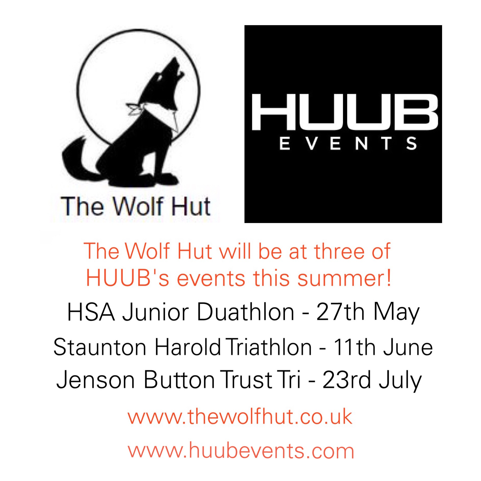 HUUB Events & The Wolf Hut