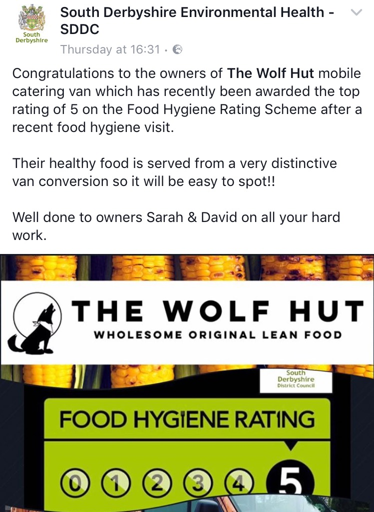 Top Hygiene Rating!
