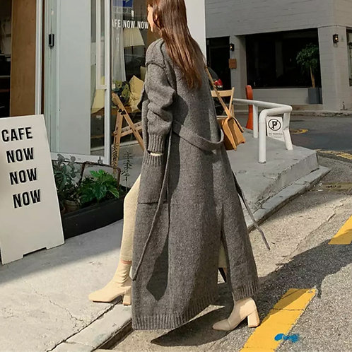 LONG LIVING SWEATER CARDIGAN COAT