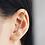 Thumbnail: RHINESTONE THREAD EAR REGALIA
