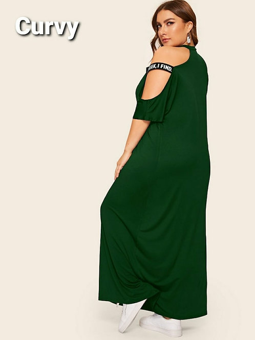COLD SHOULDER BREEZE MAXI PLUS