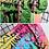 Thumbnail: GRAFFITI SCRIPT MULTI COLOR CARRY ON BAGZ