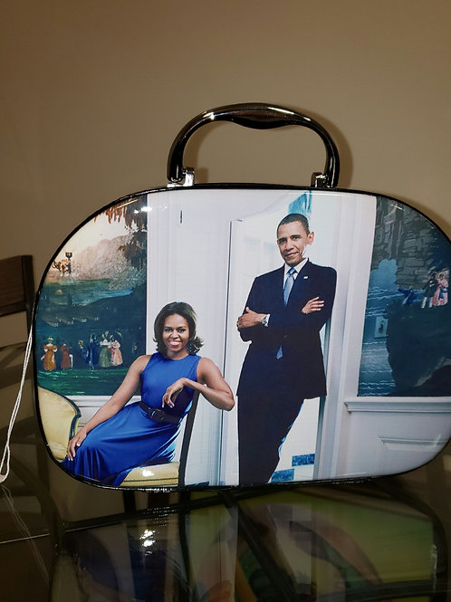 MAKEUP CARRY - SMALL MICHELLE OBAMA COLLECTION