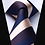 Thumbnail: BILLIAM STRIPE STRIDEZ~TIE & SQUAREZ SET