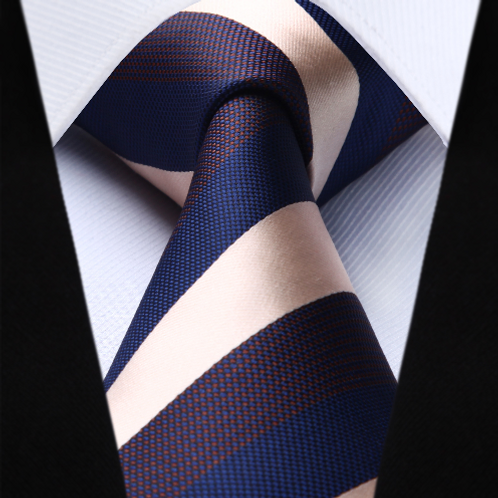 BILLIAM STRIPE STRIDEZ~TIE & SQUAREZ SET