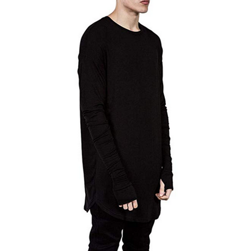 SOLID PULLOVER LONGSLEEVEZ