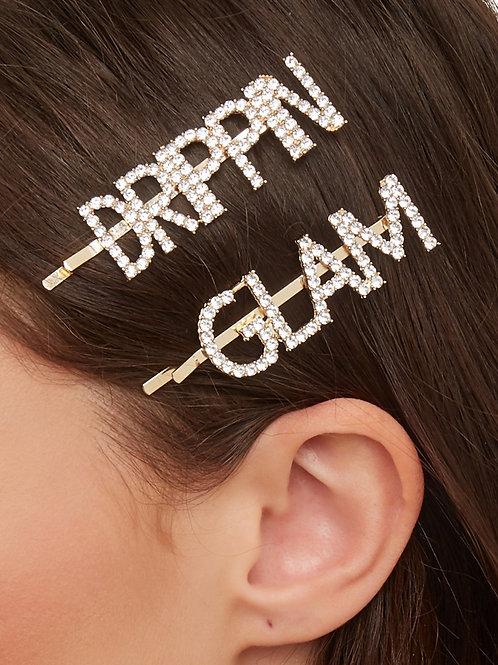HAIR ADORNMENT CLIPZ ~ GLAM/DRIPPIN