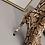 Thumbnail: SNAKE PRINT MICROFIBER CLOTH KNEE-HI BOOTZ