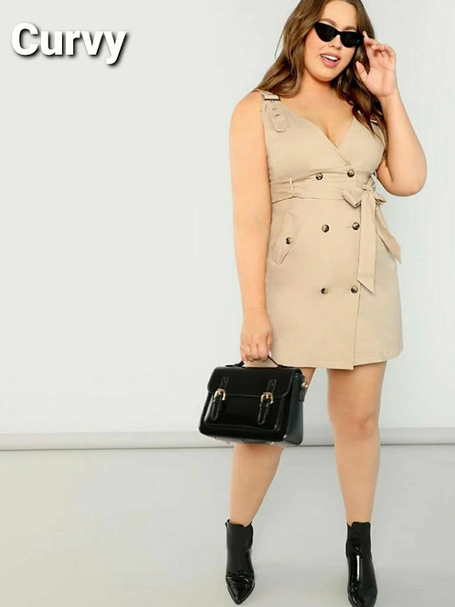 CARGO ADJUSTABLE PLUS DRESS