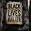 "Thumbnail: ""BLACK LIVES MATTER"" CRYSTALS  CLUTCH"