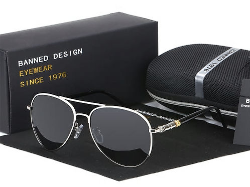 SHARPE STAINLESS STEEL RIMMED SHADEZ