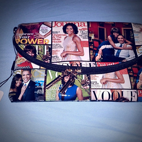 ENVELOPE CLUTCH MICHELLE OBAMA HANBAGZ COLLECTION