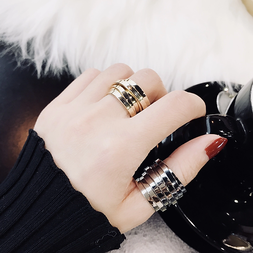 LASSO BANDS SCULPTED RINGZ