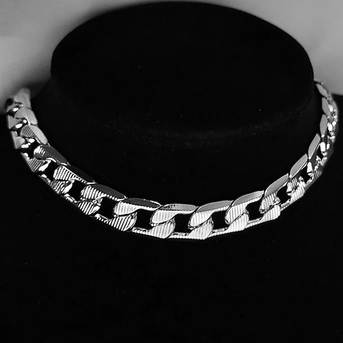 KORY STAINLESS STEEL CHAIN LINK NECKLACEZ