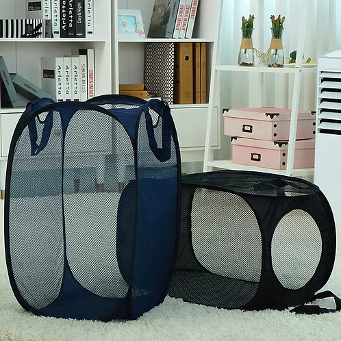 MESH COLLAPSIBLE LAUNDRY BASKETZ