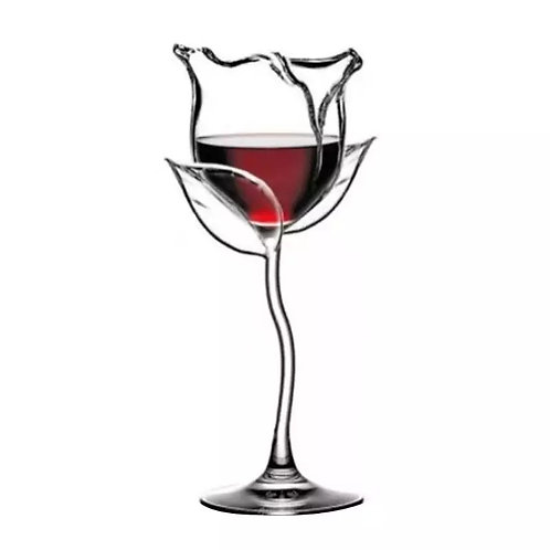 ROSE FOR YOUR ROSÉ~WINE COCKTAIL GLASSEZ~2SET