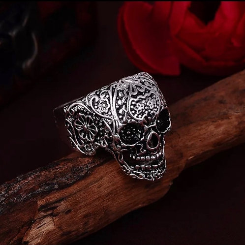 MEN'S SKULL STAINLESS STEEL RINGZ