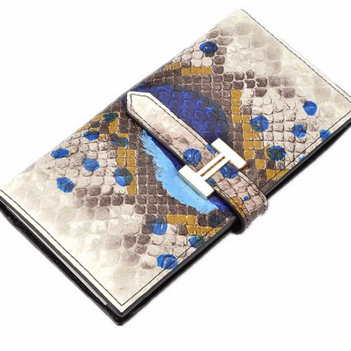 SNAKE SKIN SPLIT WALLET by Botom