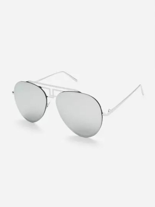 PEWTER PEACE RIMLESS SUNNIEZ