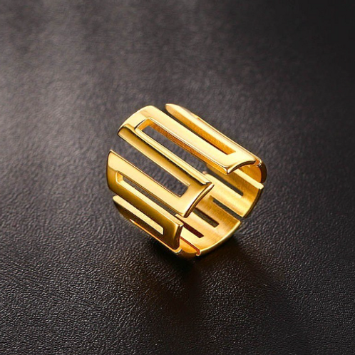 SS316 NOEL~ABSTRACT RINGZ