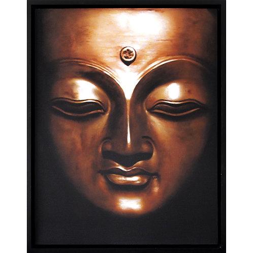 Painting - bronze buddha #2