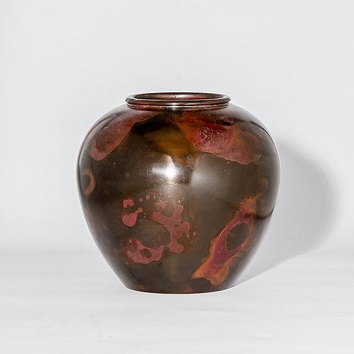 Meiji bronze vase #26