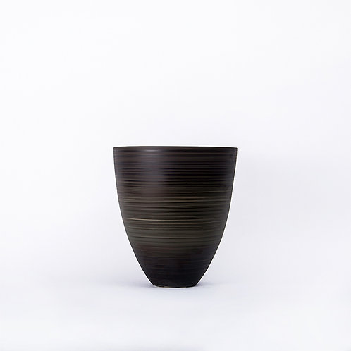 Top vase - tall (dark grey)
