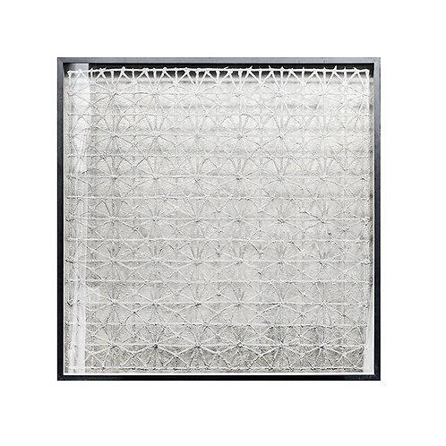 Woven paper artwork #1