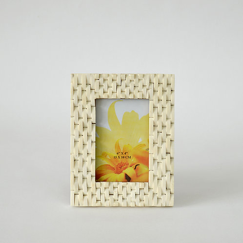 Wave bone photo frame