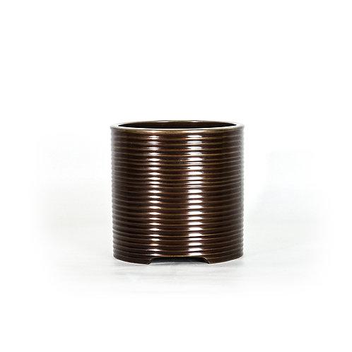 Taisho bronze hibachi, h235