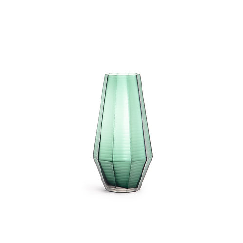 Rede glass vase