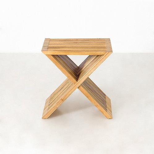 Stripe X stool