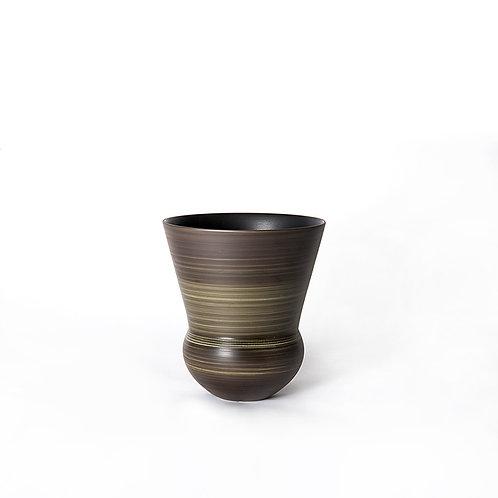 Bell vase - short (dark grey)