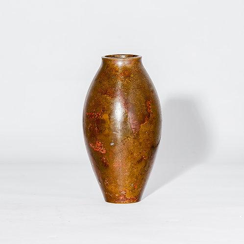 Meiji bronze vase #24