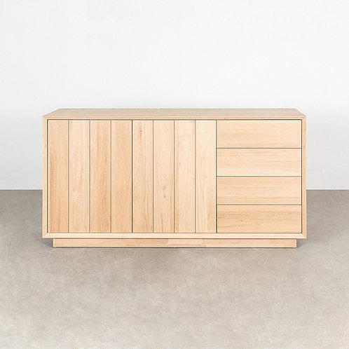 Cube sideboard 2 doors 4 drawers