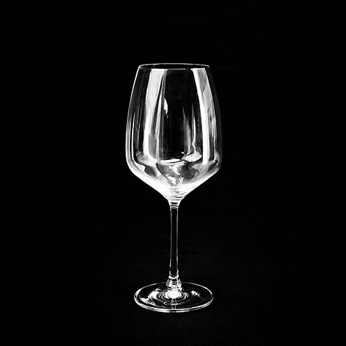 Gis crystal wine glass