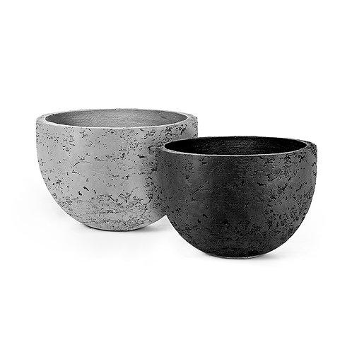 Light stone vase