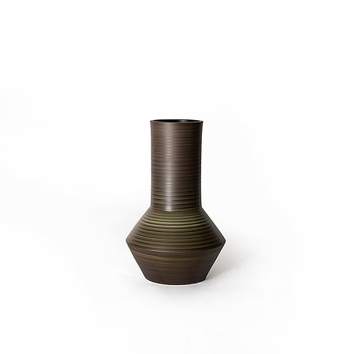 Tube vase - medium (dark grey)