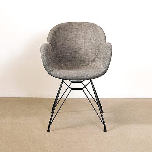 FIORE chair in dark brown