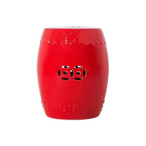 TS Chinese stool - red