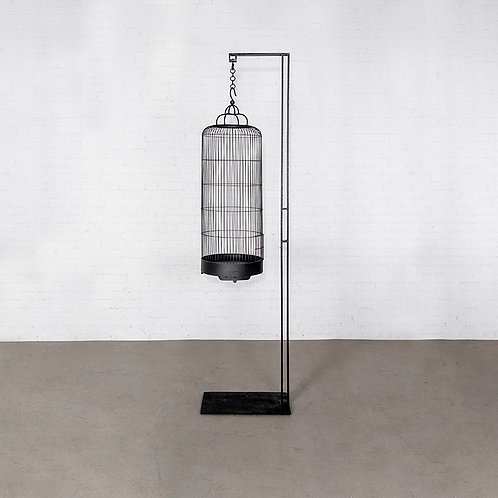 OVO bird cage with stand
