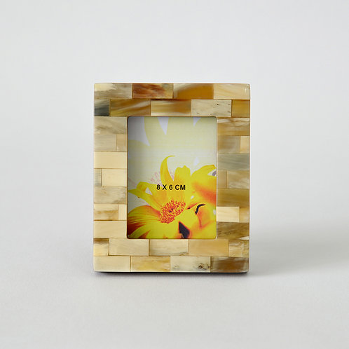 Horn Rectangular Photo Frame